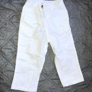 Ralph Lauren white pants. Size 18 months